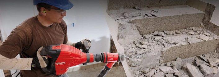 демонтаж бетона по харькову